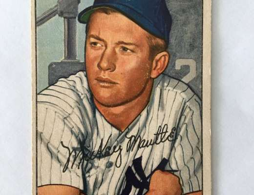 Bowman Mickey Mantle